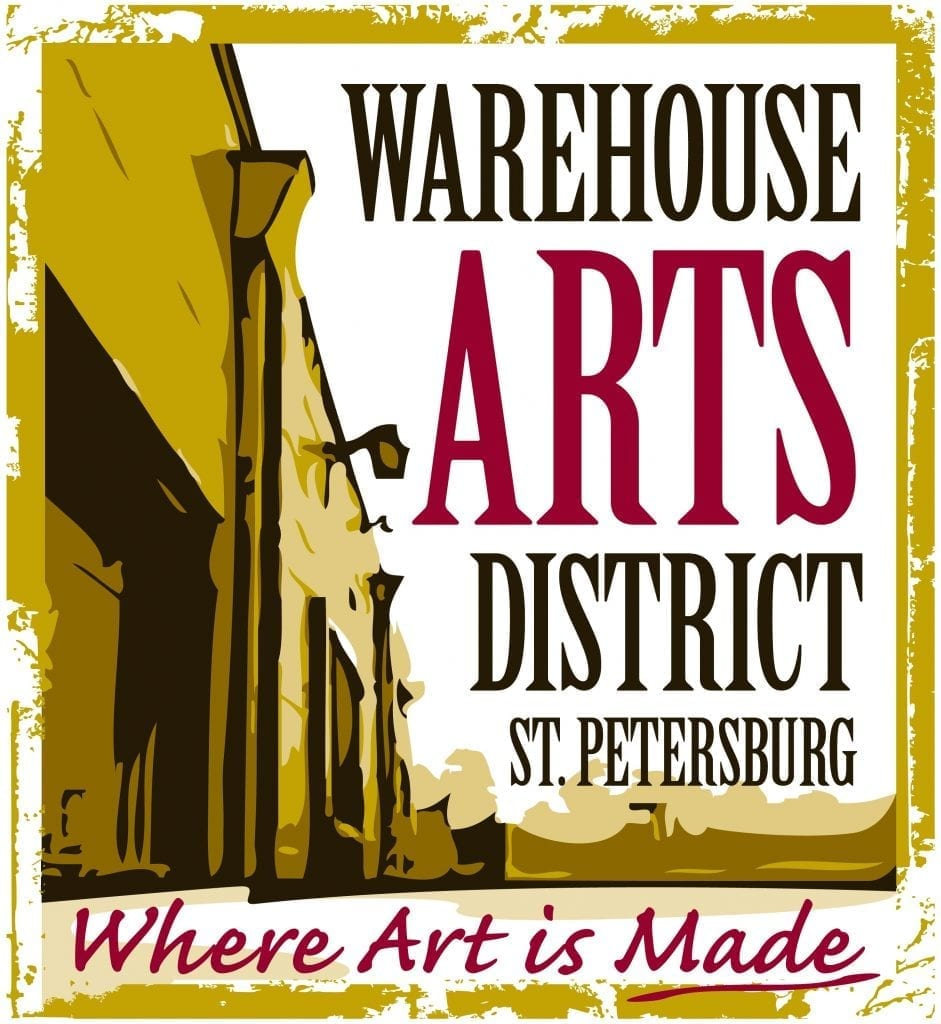 Warehouse Art District is one of the locations available for the Second Saturday Artwalk in St Pete by the St Pete Art Alliance