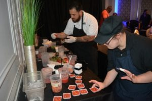 PARC's PARC Community Programs like Top Chef Event Showcasing Abilities in Action