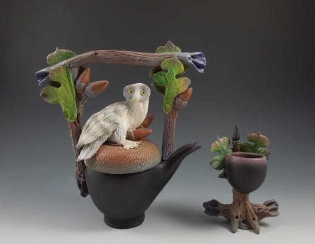 Teapot by Syd entel galleries