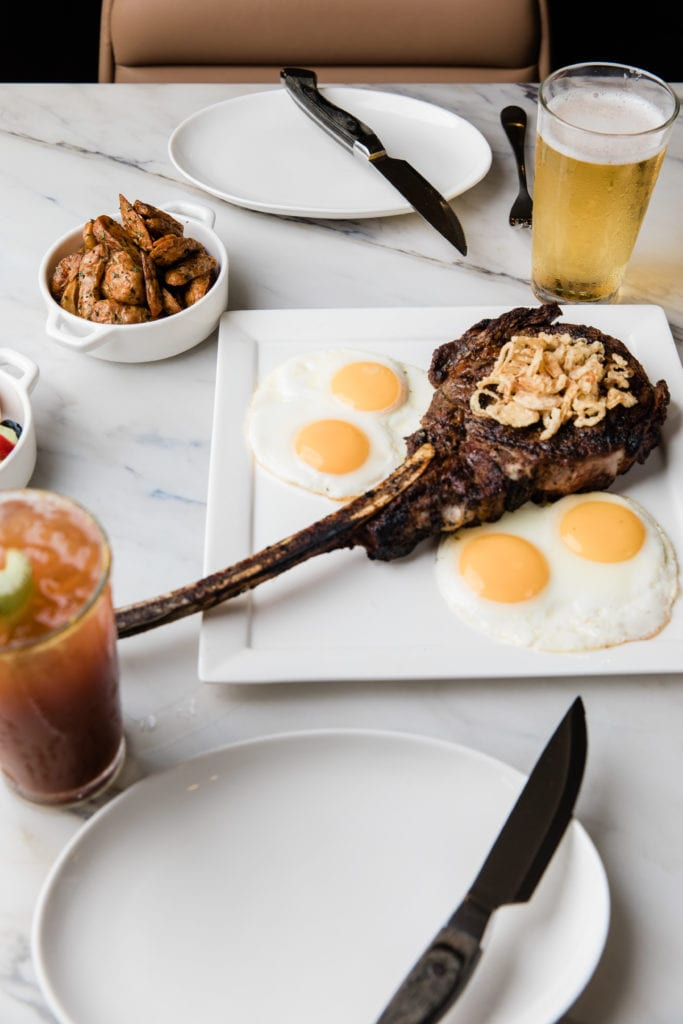 Steak - Eggs for Two at the Fenway Resort