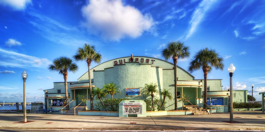 Gulfport casin the home of the gecko ball