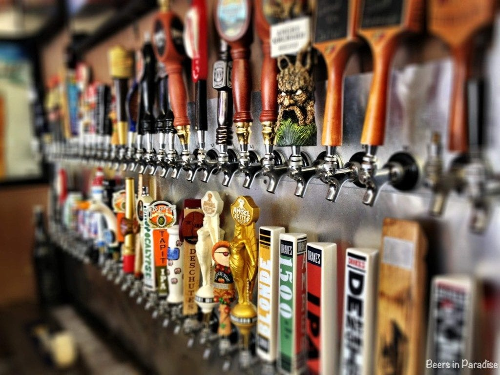 Many brews together on tap worldwide