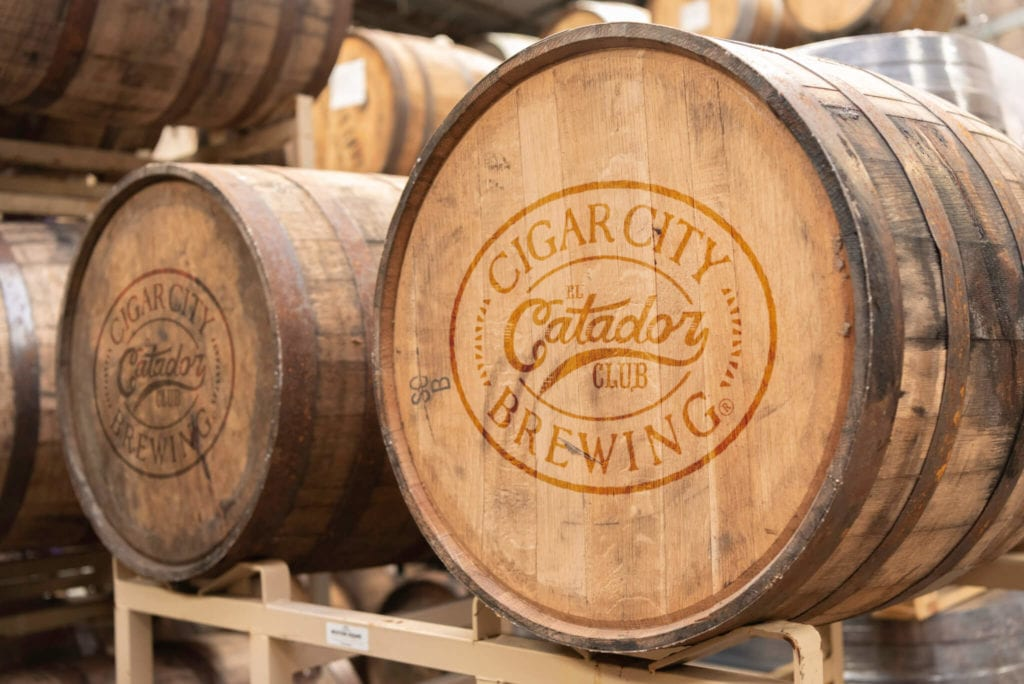 Catodor Club Barrels at Cigar City