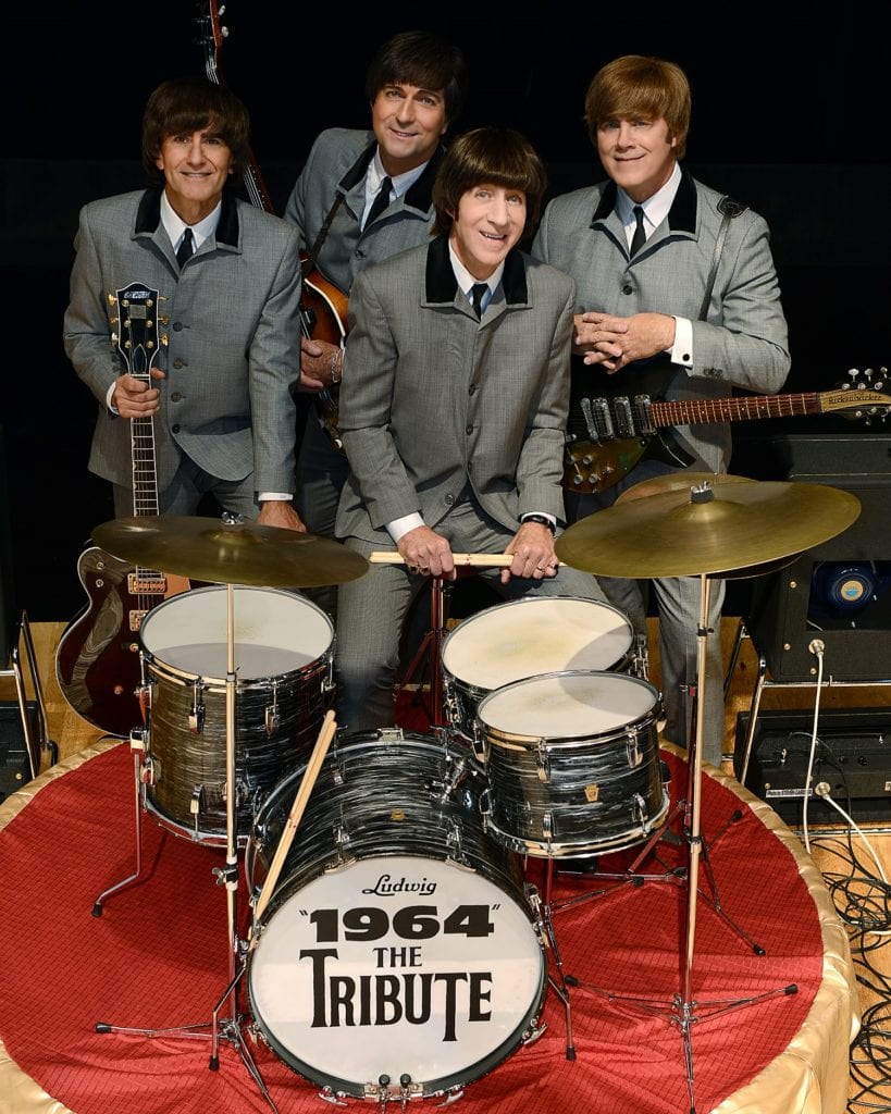 1964 photo of tribute to the beatles