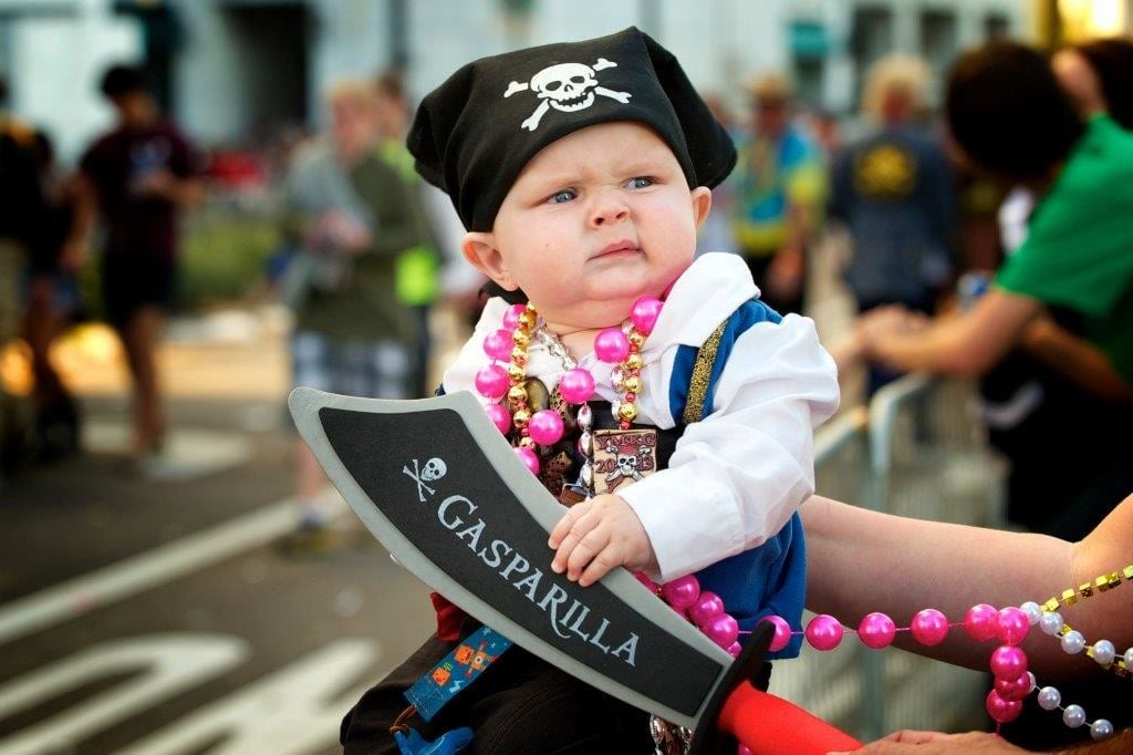 Children's Gasparilla Parade for toddlers