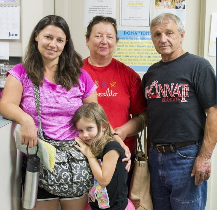 Clearwater Free Clinic Patients Served