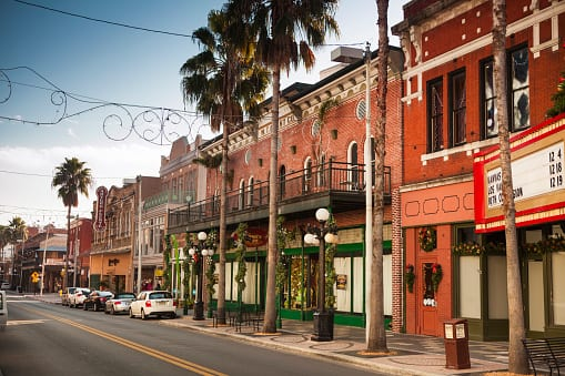 historic ybor city to enjoy when relocating to Tampa