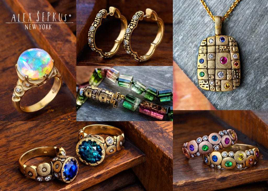 Alex Sepkus Jewelry Trunk Show at Syd Entel Galleries