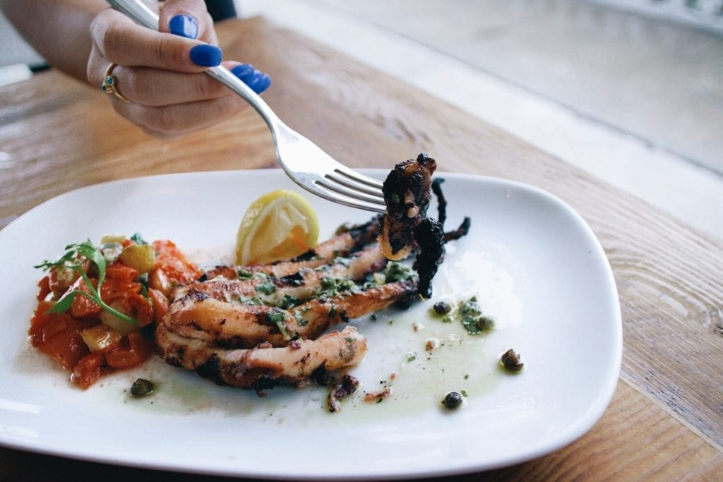 Grilled Octopus BABA: A Perfect Marriage of Lebanese and Greek