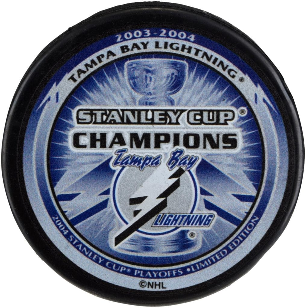 2004 Stanley Cup Championship with the Tampa Bay Lightning