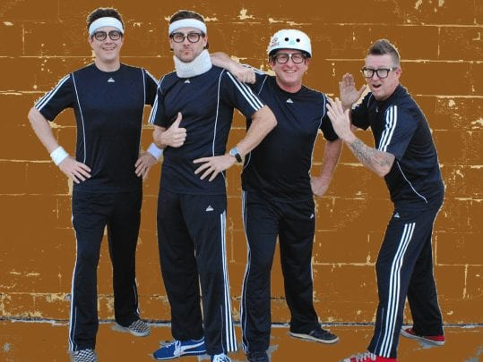 """The Central Park Performing Arts Center presents the Parkview Terrace Summer Concert Series featuring it's latest addition to the series, """"The Spazmatics""""."""