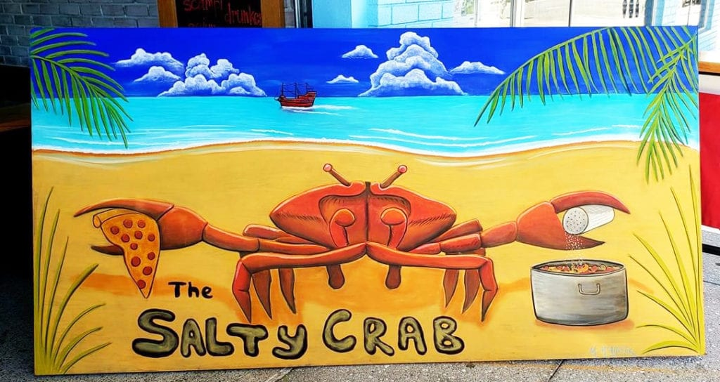 Artist head to Central Clearwater Beach for Chalktoberfest Halloween style