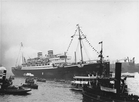 MS St Louis during the holocaust
