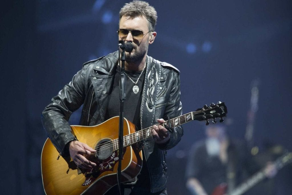 """Country singer Eric Church will join 12 Grammy-nominated R&B singer and songwriter Jazmine Sullivan in performing """"The Star-Spangled Banner."""" And Grammy-winning singer H.E.R. will perform """"America the Beautiful."""""""