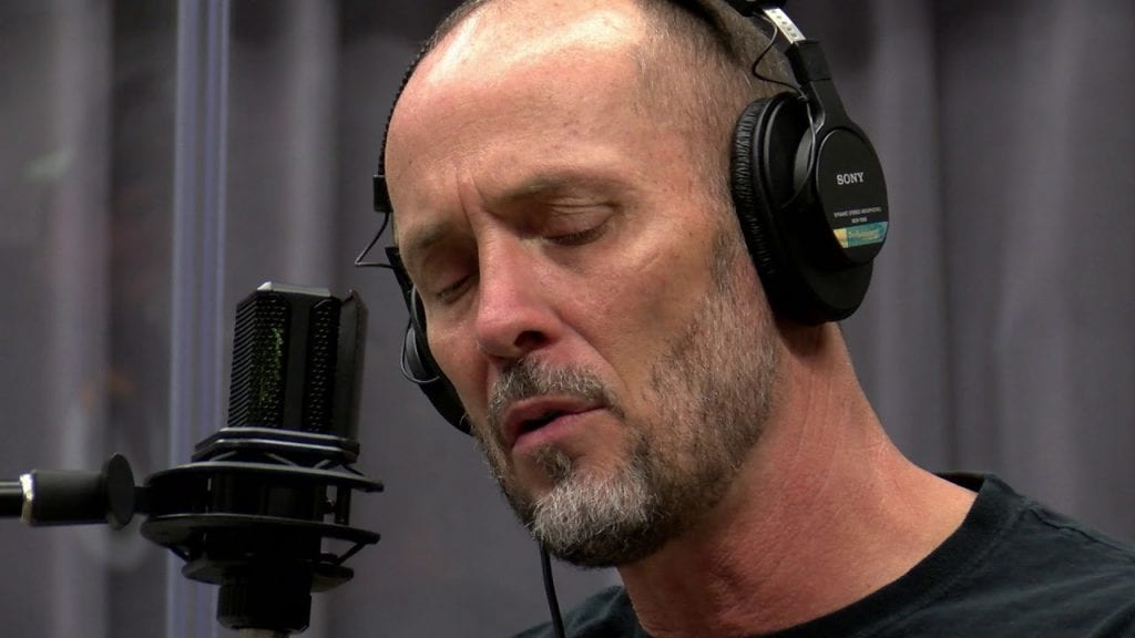 Paul Thorn Recording Session