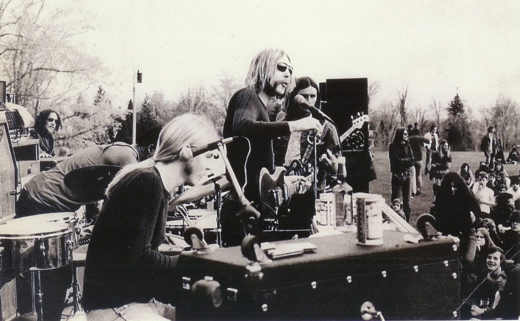 The Allmans Brothers -May-1971-Skidmore-College. A celebration of their music will take place at the mahaffey theatre by Brother's Again