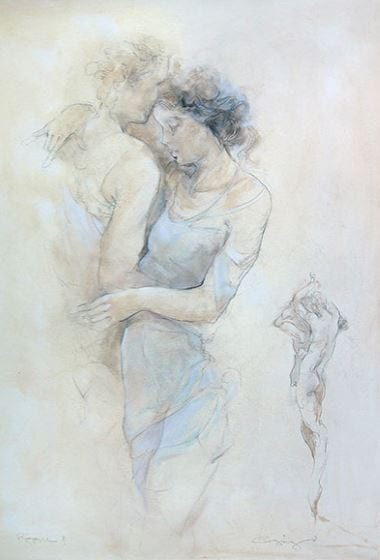 Love and Romance Art by Gorg to be on display at Syd Entel Galleries