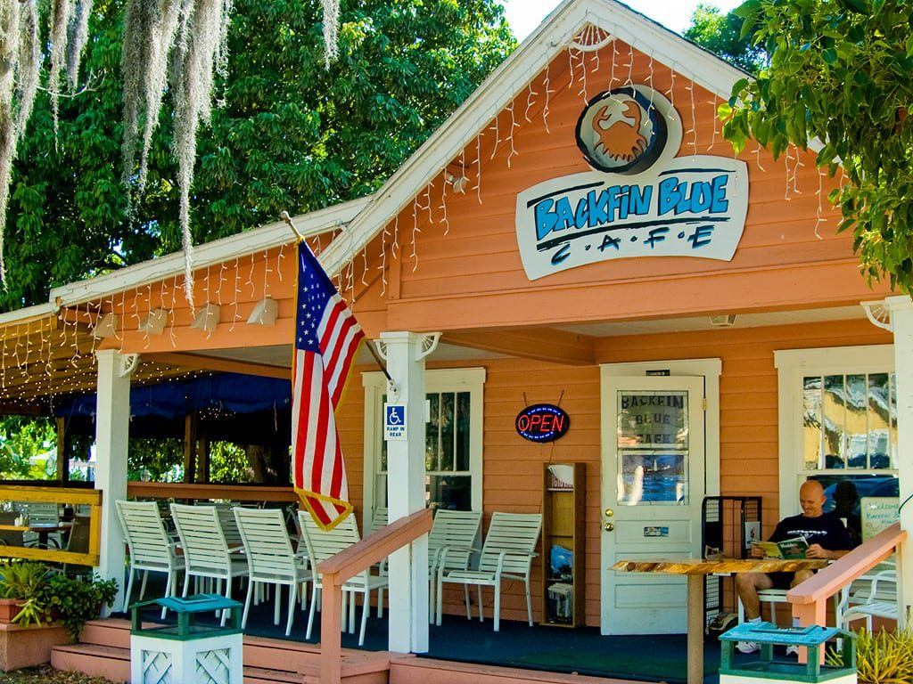 many things to see and do in Gulfport including Backfin Blue Cafe.  They are also a part of the Gulfport Merchant Chamber