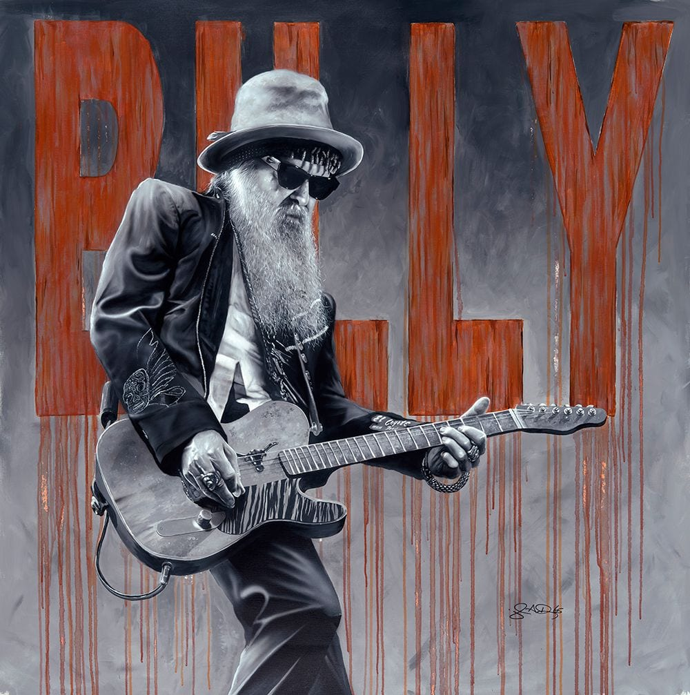 Billy Gibbons by John Douglas to appear at the Michael murphy gallery in Destination Tampa Bay™