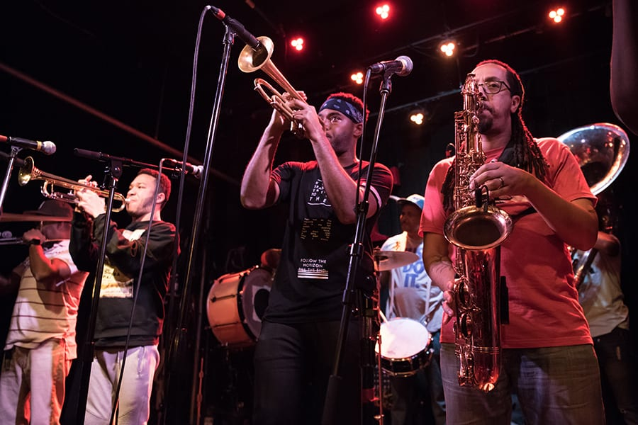 Rebirth Brass Band from New Orleans to perform in Largo at the Central Park Performing Arts Center