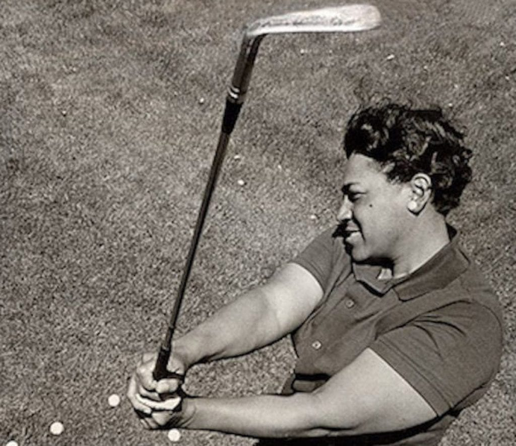 Ann Gregory one of the world first black woman golfers