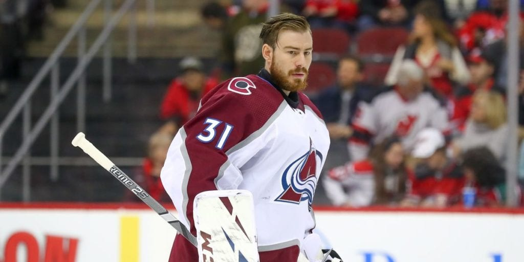 Philipp Grubauer, Colorado Avalanche Grubauer, another first-time finalist, shared the League lead with a career-high seven shutouts and ranked second in both wins (30) and goals-against average (1.95) – also personal bests – to help the Avalanche capture the Presidents' Trophy for the third time in franchise history.