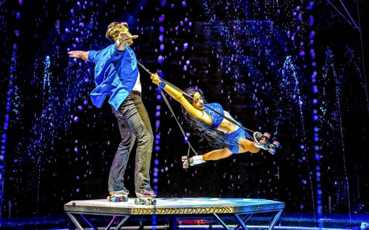 Cirque Electric highlighted during Summer Nights