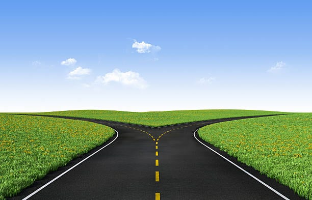 This road will be different because it is unknown.