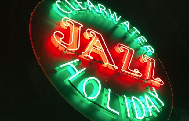 Clearwater Jazz Holiday Logo