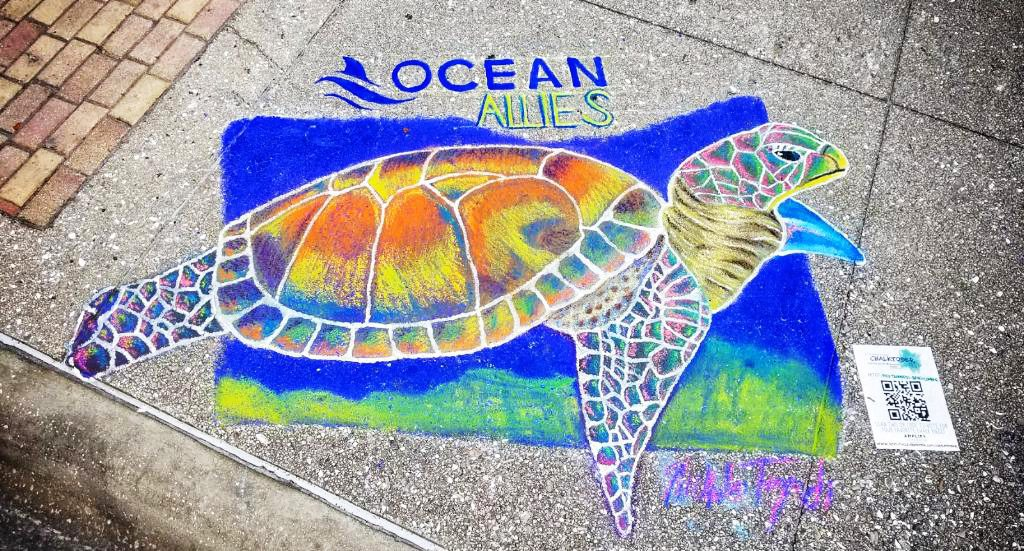 Chalktober Art Festival organizer AMPLIFY Clearwater is the Clearwater area's chamber of commerce focused on supporting and promoting local business, industry, and tourism in North Pinellas. As with other events organized by AMPLIFY Clearwater, the organizers want to ensure the safety of both participants and visitors and will be following AMPLIFY Clearwater's COVID-19 safety protocols based on updated CDC guidelines. Visitors are encouraged to wear a mask and to engage in 6' social distancing whenever possible. According to AMPLIFY Clearwater's established protocols, anyone who has been exposed to or exhibiting symptoms of COVID-19 are asked to stay home, regardless of whether they have been able to get tested or received a negative test result.