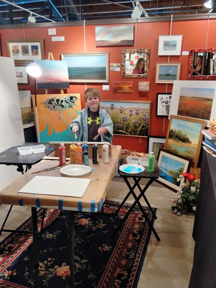 Sudio at Sterling art studios and gallery.  They will be holding the Portrait Sketchers in Dunedin